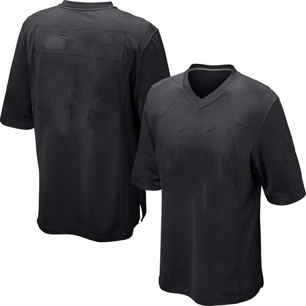 Youth & Adult Black Football Jersey
